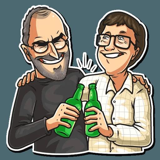 Steve Jobs - Sticker 22