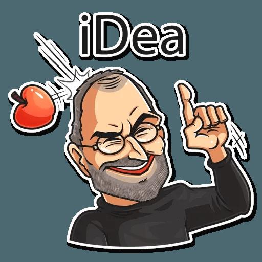Steve Jobs - Sticker 15