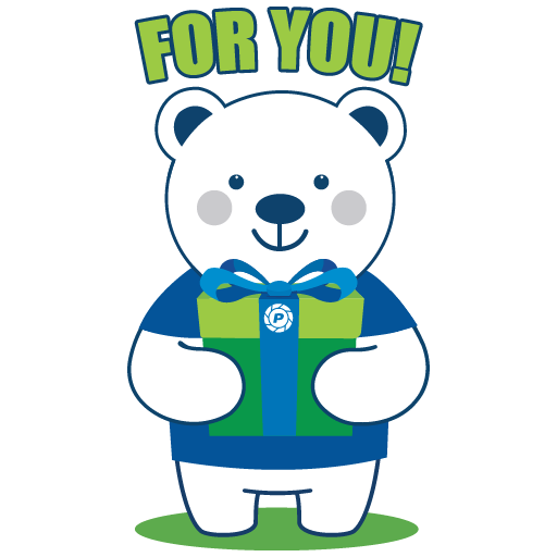 Polar Poby Bear 2 - Sticker 8