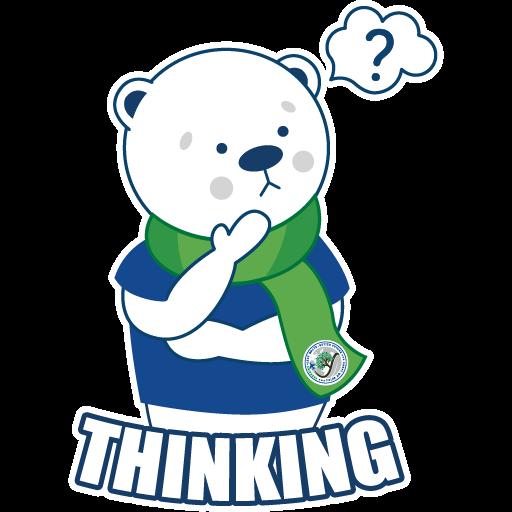 Polar Poby Bear 2 WhatsApp Stickers - Stickers Cloud