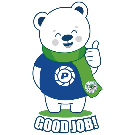 Polar Poby Bear 2 - Sticker 10