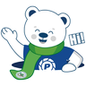 Polar Poby Bear 2 - Tray Sticker