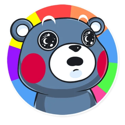 Kumamon - Tray Sticker