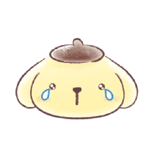 Pompompurin watercolor 2 - Sticker 1