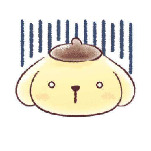 Pompompurin watercolor 2 - Sticker 4
