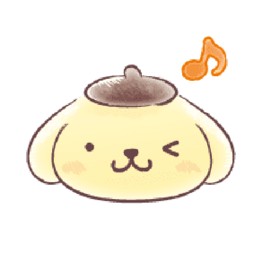 Pompompurin watercolor 2 - Sticker 3