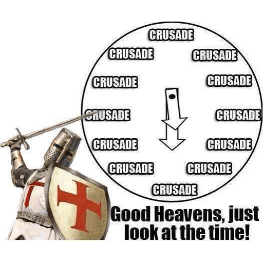 Crusaders  - Sticker 5
