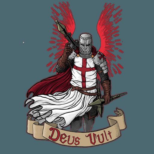 Crusaders  - Tray Sticker