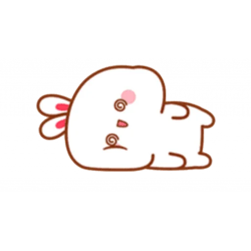 cute rabbit - Sticker 8