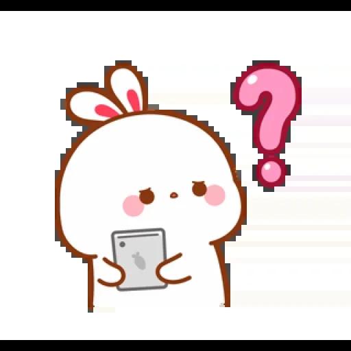 cute rabbit - Sticker 15
