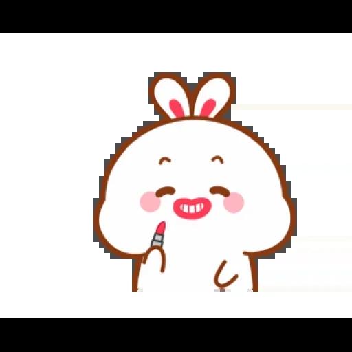 cute rabbit - Sticker 17