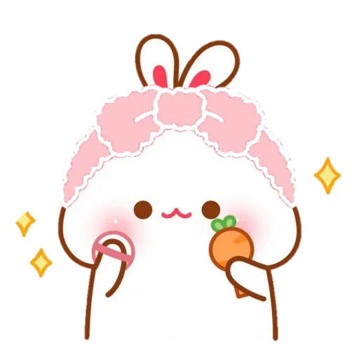 cute rabbit - Sticker 20