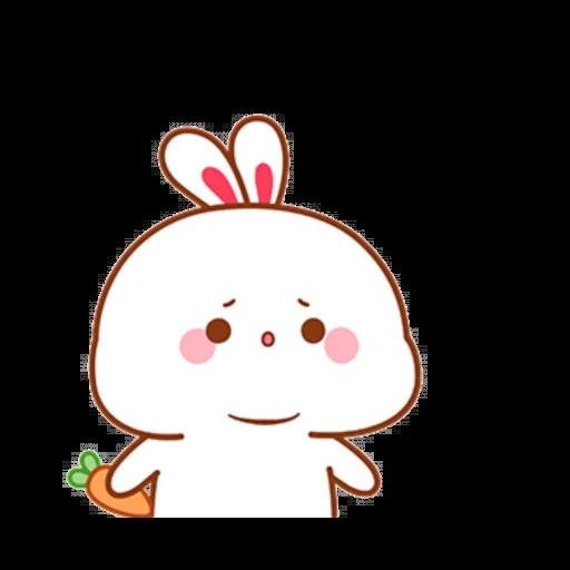 cute rabbit - Sticker 11