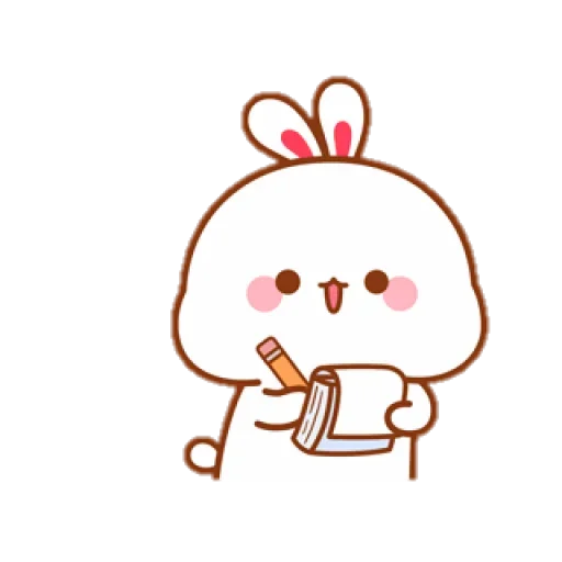 cute rabbit - Sticker 19