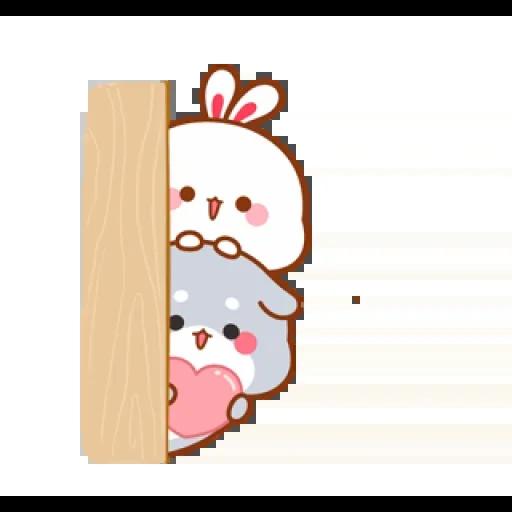 cute rabbit - Sticker 22