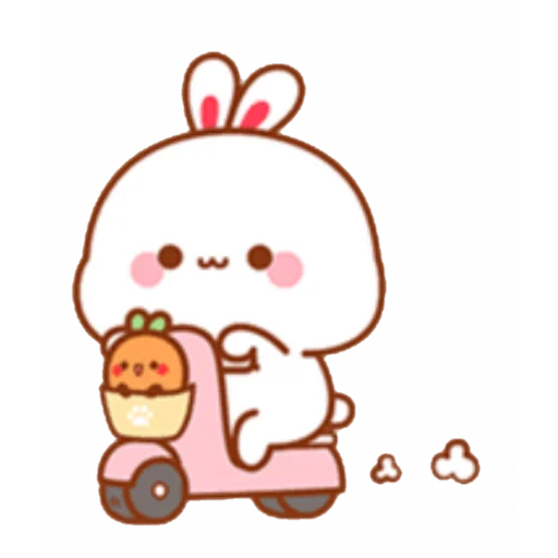 cute rabbit - Sticker 3