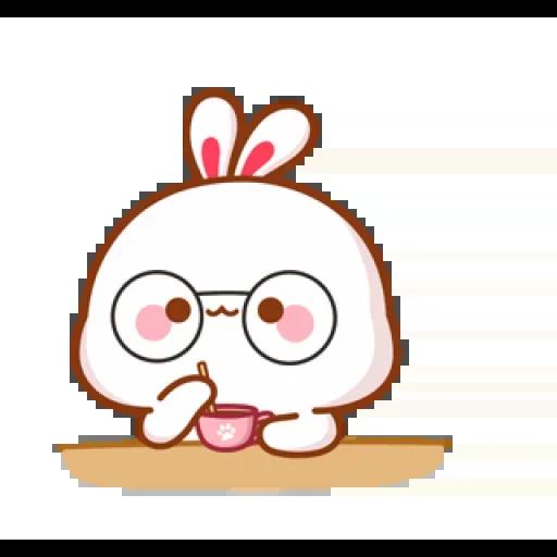 cute rabbit - Sticker 18