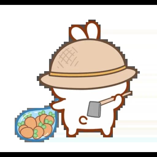 cute rabbit - Sticker 21