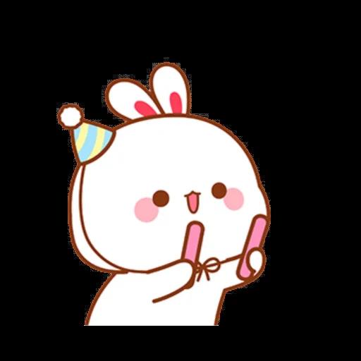 cute rabbit - Sticker 7