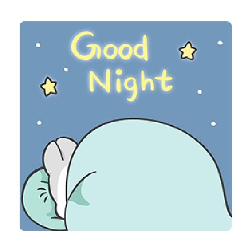 ㄇㄚˊ幾兔11 Hi,喂,night - Sticker 29
