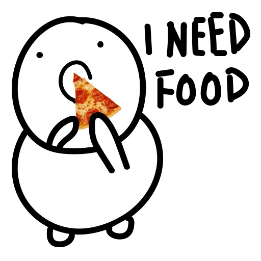 Nom noms - Sticker 1