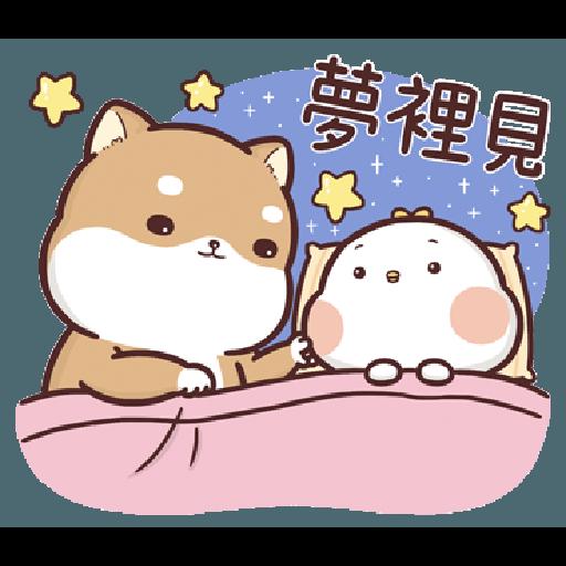 Shiba Inu PIPI's life-Valentine's day by Liz - 2 - Sticker 3