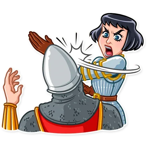 Joan of Arc - Sticker 21