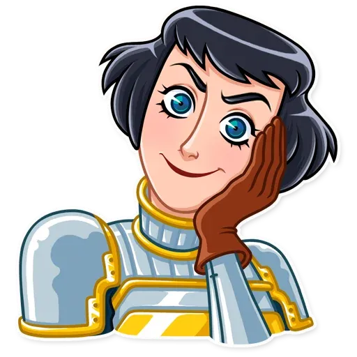 Joan of Arc - Sticker 24