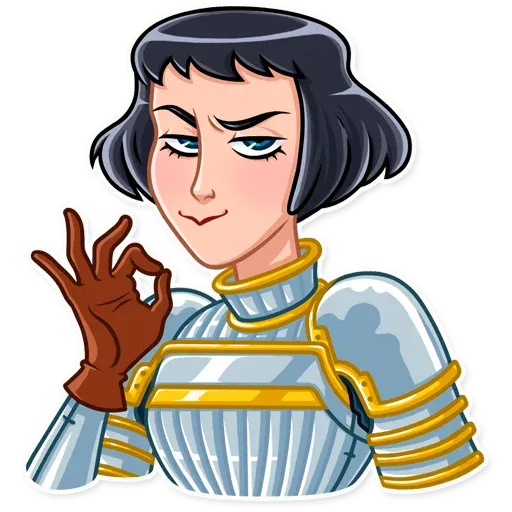 Joan of Arc - Sticker 6