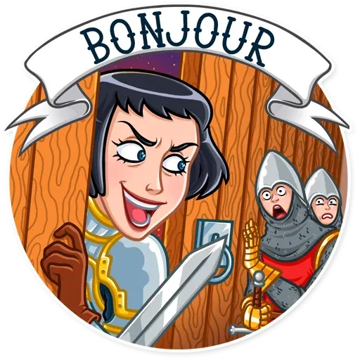 Joan of Arc - Sticker 5