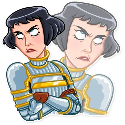 Joan of Arc - Sticker 10