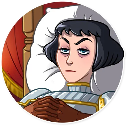 Joan of Arc - Sticker 20