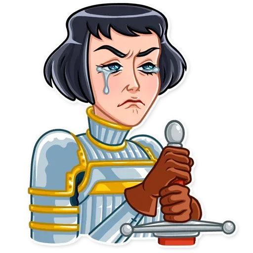 Joan of Arc - Sticker 12