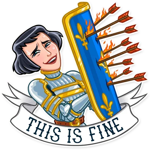 Joan of Arc - Sticker 22