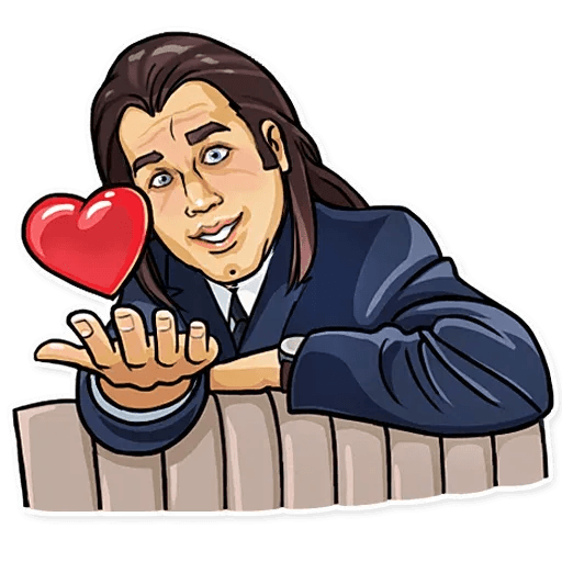 Pulp fiction - Sticker 2