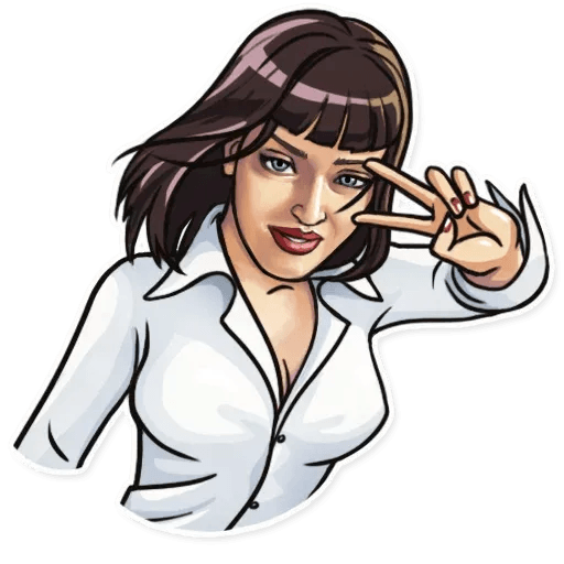 Pulp fiction - Sticker 5