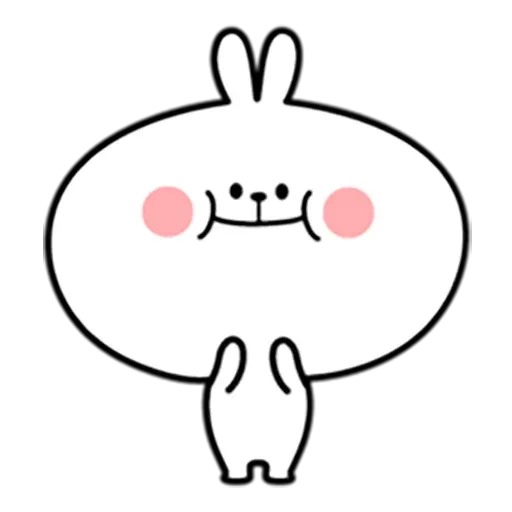 Spoiled rabbit 暴力互動版 - Sticker 12