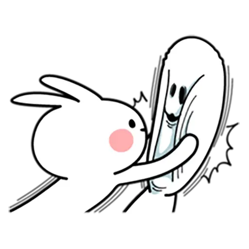 Spoiled rabbit 暴力互動版 - Sticker 9