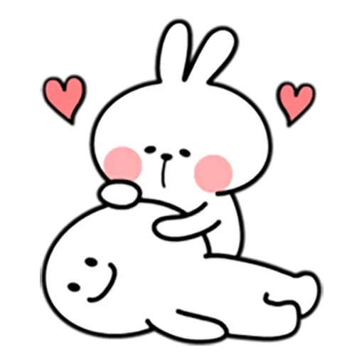 Spoiled rabbit 暴力互動版 - Sticker 5