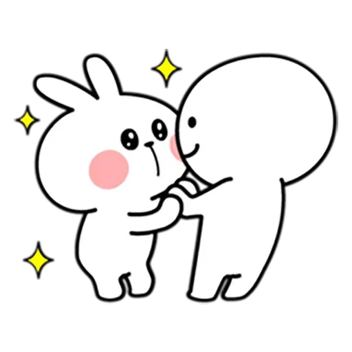 Spoiled rabbit 暴力互動版 - Sticker 13