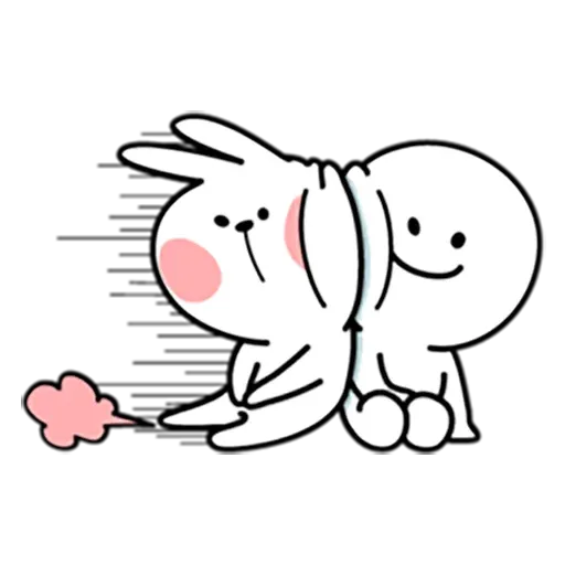 Spoiled rabbit 暴力互動版 - Sticker 2