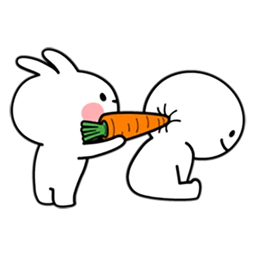 Spoiled rabbit 暴力互動版 - Sticker 18