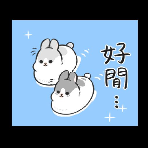 ㄇㄚˊ幾兔19 - Sticker 6