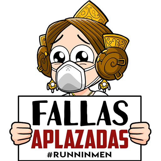 Stickers Falleros ft. Coronavirus - Sticker 1