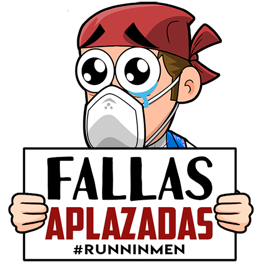 Stickers Falleros ft. Coronavirus - Sticker 2