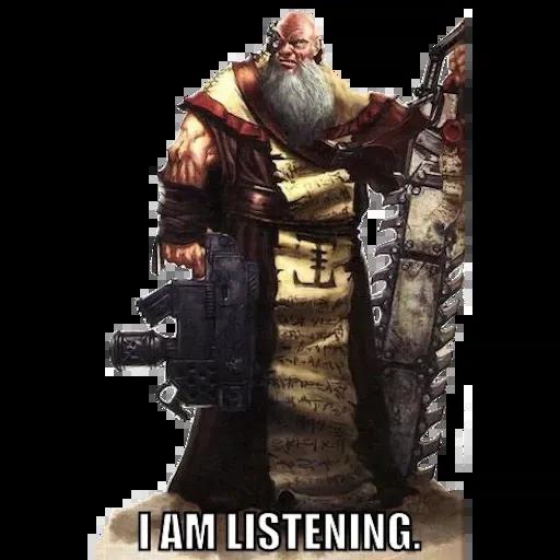 Warhammer 40K - Sticker 21