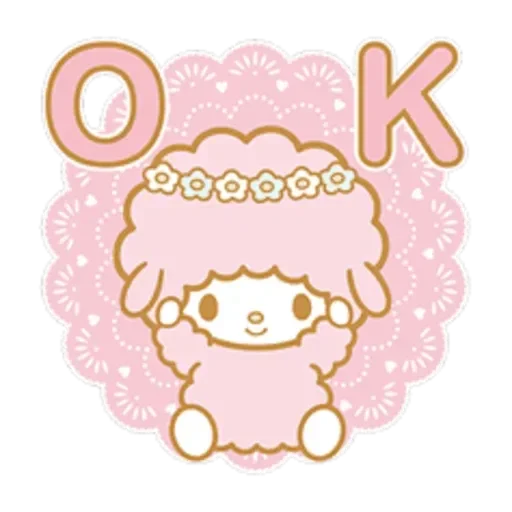 My Melody 1 - Sticker 6