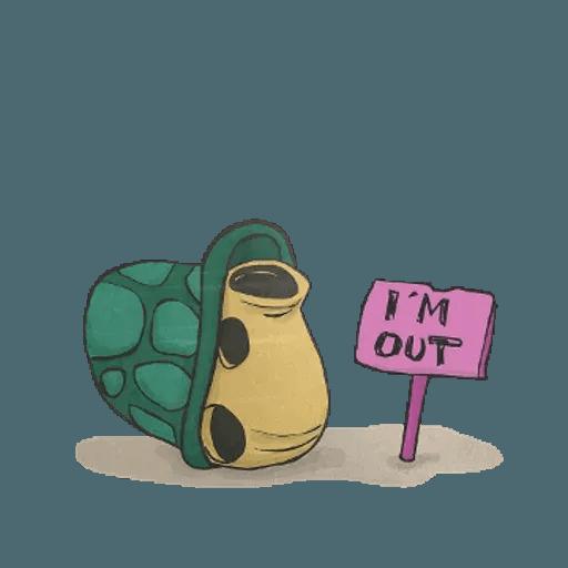 Slowy the turtle ? - Sticker 11