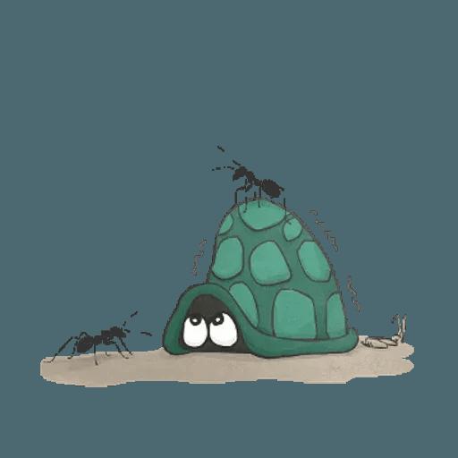 Slowy the turtle ? - Sticker 4