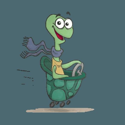 Slowy the turtle ? - Sticker 16